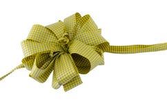 Желтая присутствующая изолированная лента Стоковая Фотография RF