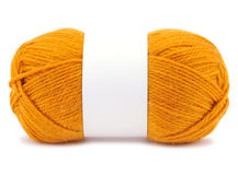 Желтая пряжа Стоковое Изображение RF