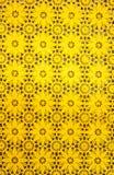 Желтая пластичная предпосылка Стоковое фото RF