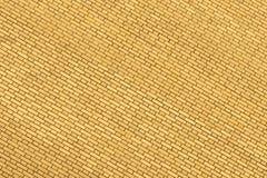 Желтая стена сделанная кирпича для предпосылки и текстуры Стоковые Изображения RF