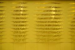 Желтая стена Стоковые Изображения