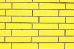 Желтая стена Стоковое фото RF