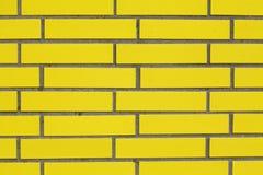 Желтая стена Стоковое Изображение