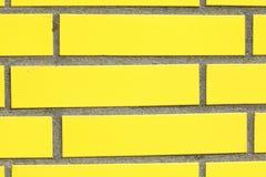 Желтая стена Стоковая Фотография