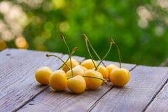 Желтая сладостная вишня Стоковое Изображение RF