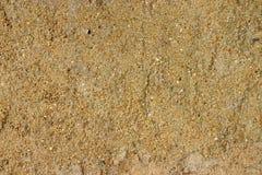 Желтая текстура песка Стоковые Изображения RF