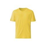 Желтая футболка на белой предпосылке Стоковая Фотография RF
