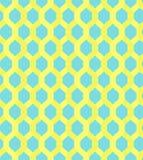 Желтая цепь решетки на голубой картине предпосылки бесплатная иллюстрация