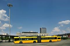 Желтая шина, Будапешт, Венгрия Стоковое Изображение RF