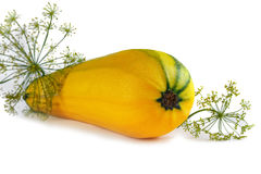 Желтая vegetable сердцевина Стоковое фото RF