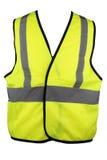 Желтого цвета жилет Высок-Viz Стоковое Изображение