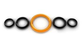 Желтое кольцо бесплатная иллюстрация
