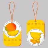 желтое манго плодоовощ Стоковое Изображение