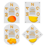 желтое манго плодоовощ Стоковые Фото