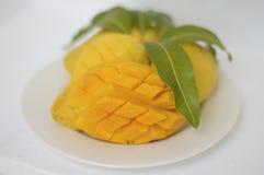 Желтое манго Стоковые Фотографии RF