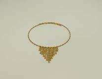 Желтое ожерелье Стоковое Изображение