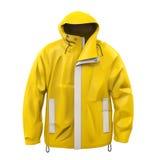 Желтое пальто дождя бесплатная иллюстрация