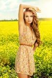 Желтое цветене Стоковые Фотографии RF