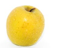 Желтое яблоко Стоковое Фото