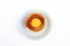 Желток в шаре стоковое изображение rf