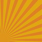 Желтые абстрактные лучи солнца 10 eps Стоковые Изображения RF