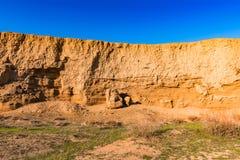 Желтые горы Стоковая Фотография