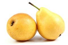 Желтые груши Стоковое Изображение