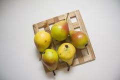 Желтые груши Стоковые Фотографии RF