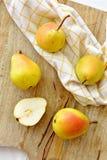 Желтые груши Стоковая Фотография RF