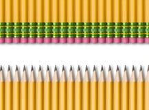 Желтые карандаши Стоковое фото RF