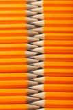 Желтые карандаши Стоковое Фото