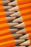 Желтые карандаши Стоковые Изображения