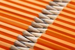 Желтые карандаши Стоковая Фотография RF