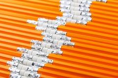 Желтые карандаши Стоковое Изображение