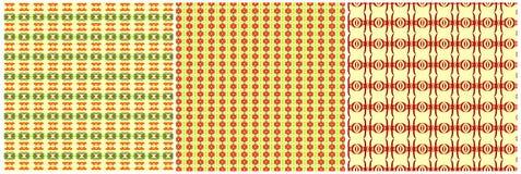 Желтые комплект и предпосылки картины Стоковая Фотография RF