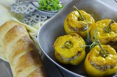Желтые перцы Стоковое Изображение