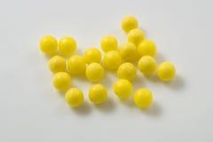 Желтые пилюльки Стоковое Изображение RF