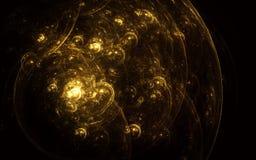 Желтые пузыри Стоковая Фотография
