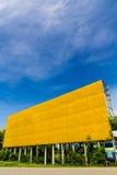 Желтые пустые афиши Стоковые Фото