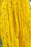Желтые разрывы свечи Стоковые Изображения RF