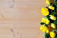 Желтые розы Стоковая Фотография RF