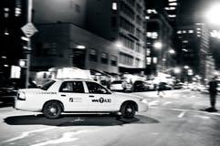 Желтые такси в Манхаттане Нью-Йорке Стоковое Фото