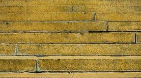 Желтые шаги Стоковые Фотографии RF