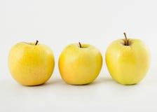 Желтые яблоки Стоковая Фотография RF