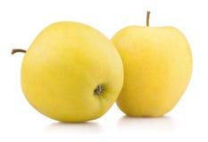 Желтые яблоки Стоковые Фото