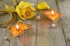 Желтые butterflyes Стоковые Изображения