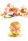 Желтые Shavings карандаша Стоковые Фотографии RF