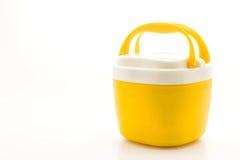 Желтый буфет воды стоковые фото