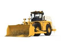 Желтый бульдозер  Стоковая Фотография RF