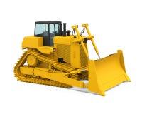 Желтый бульдозер Стоковые Фото